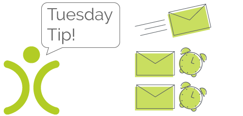 Tuesday Tip Email Plans