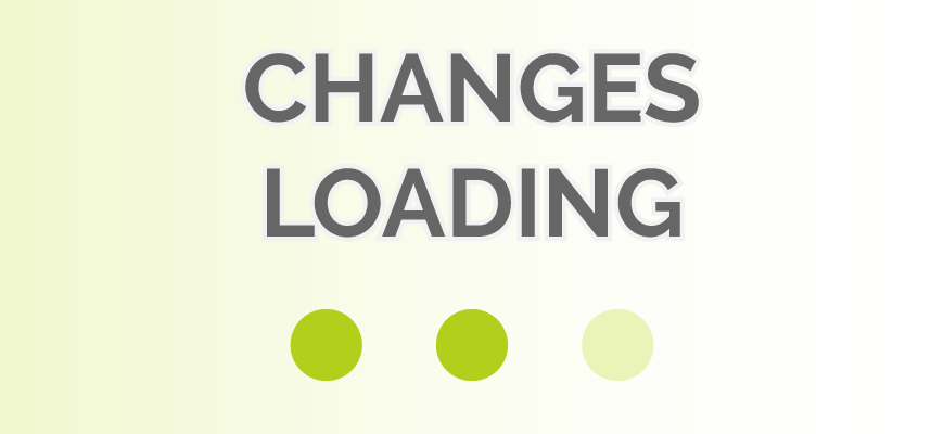 Change Log Changes Loading